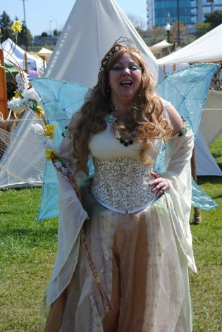 The Fairy Queen, full of mirth, photo by Kim Knight Dirato